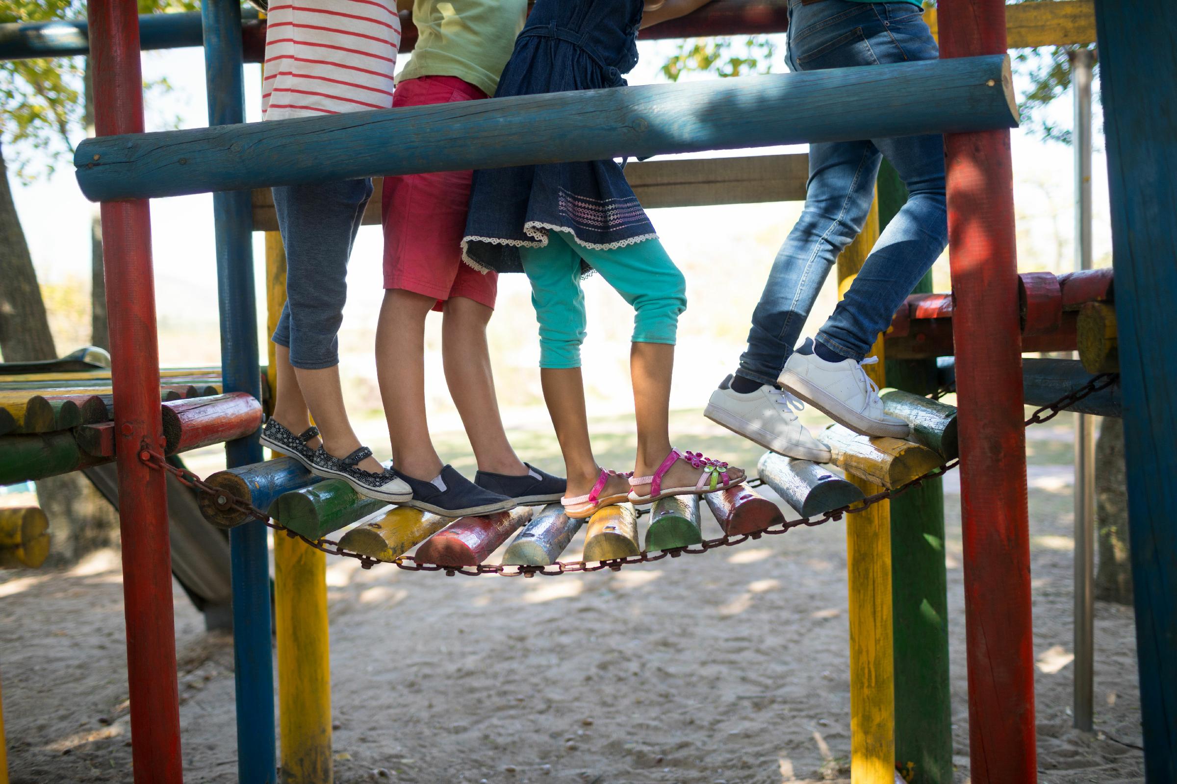 Benefícios do playground para o desenvolvimento infantil nas escolas
